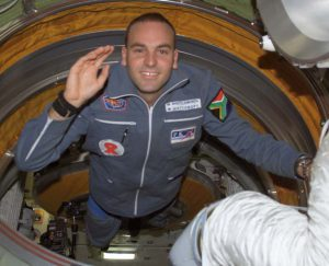A picture of Mark Shuttleworth a space tourist