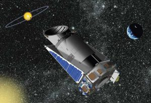 A picture of NASA'S Kepler telescope